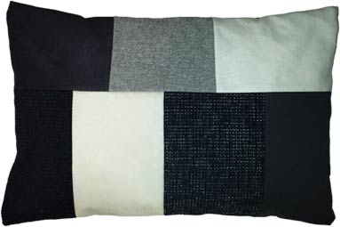 Zwart Wit Kussens : ≥ zwart wit kussen vierkant woonaccessoires kussens