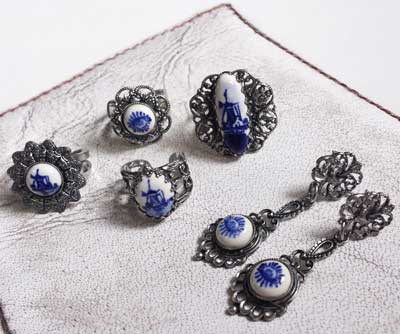 delftsblauwe sieraden
